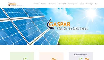 Neue Webpräsenz: GASPAR ist die CO2-neutrale Marke der rhenag