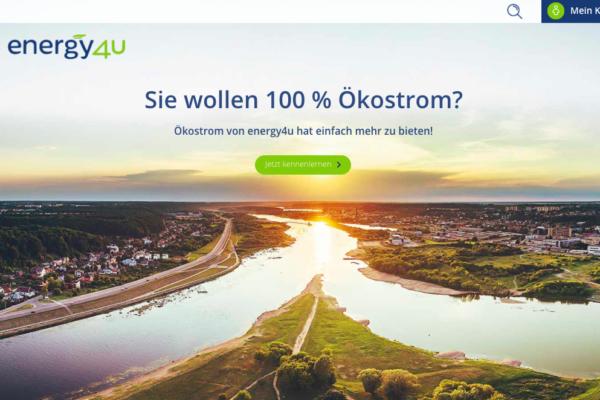Web-Entwicklung und Social Media für energy4u.de